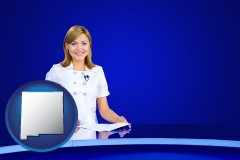 new-mexico a television announcer